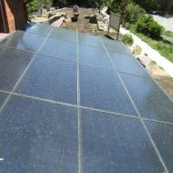 Solar array. Oreck